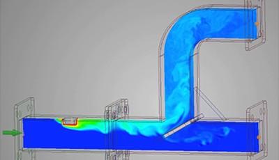 Ansys Discovery-Analisi dei fluidi interni