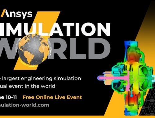 ANSYS SIMULATION WORLD   Il più grande evento virtuale di simulazione ingegneristica