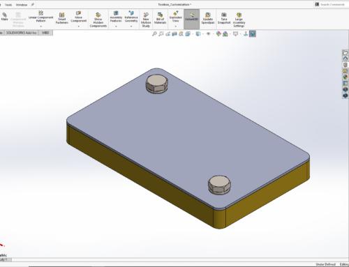 SOLIDWORKS | Come personalizzare un componente Toolbox